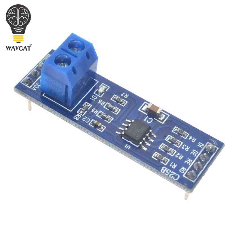 5PCS MAX485 Module RS-485 TTL to RS485 MAX485CSA Converter Module For Arduino Integrated Circuits Products(China (Mainland))