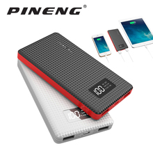 Pineng Ultra Slim Mini Power Bank Ultra thin External Battery Charger for iPhone 7 6 6S 5S 5 5C 4S 4G and others(China)
