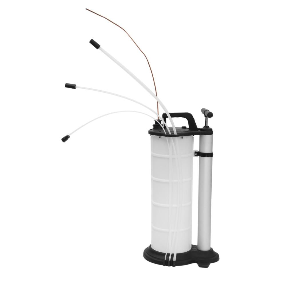 7L Unidad de Bombeo Manual del Autom/óvil Bomba de Extracci/ón de Aceite de Desecho del Coche Herramienta de Transferencia de Vac/ío por Succi/ón de Fluido de Agua