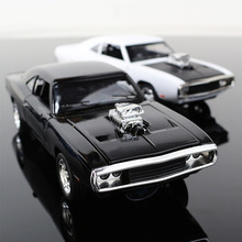 1:32 The Fast And The Furious Free Shipping Dodge Charger Alloy Car Models Kids Toys Wholesale Four Color Metal Classical Cars