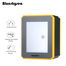 Blueskysea YK-MP2600 Omni-Directional 2D Bar Code Scanner Platform Desktop USB Barcode Scanner QR Code Reader