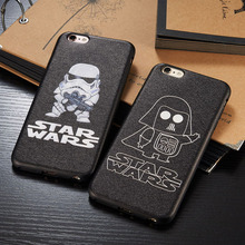 Fashion classical Star Wars Episode mate back cover case for iphone 8 8plus 7 6 6s plus carcasa capa coque fundas black cases(China)