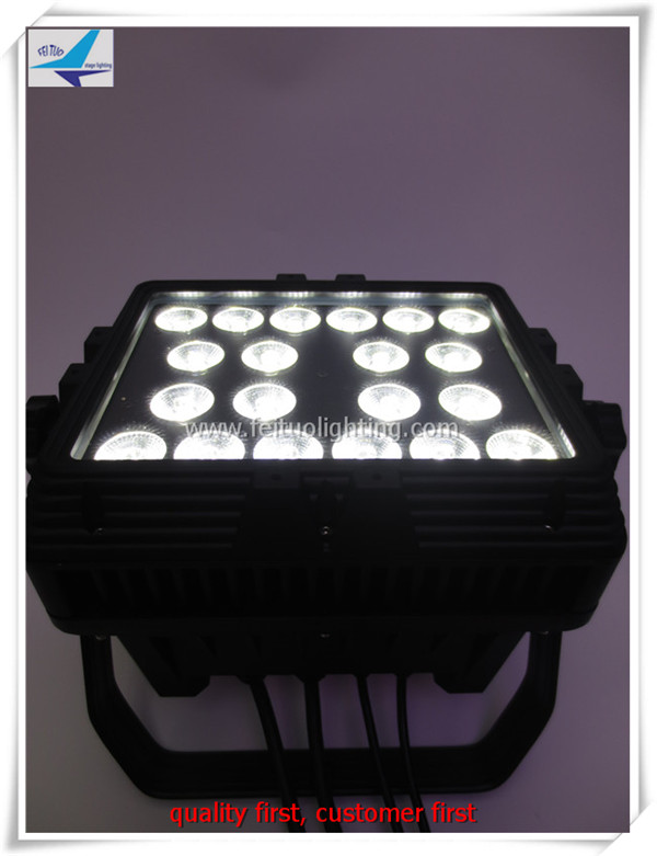 T-6/lot 20X18W RGBWA uv high power wall washer dmx outdoor 6 in 1 led wall washer IP 65 light(China (Mainland))