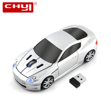 Wireless Mouse 2.4G Sports Car Shaped USB Optical Computer Mice + USB Receiver 1600DPI Mouse sem fio for PC gamer Laptop Mause(China)
