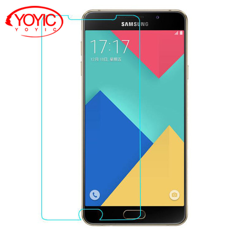 YOYIC Tempered Glass Samsung Galaxy A3 A5 A7 2017 2015 2016 Full Cover Screen Protector Samsung A8 A8 Plus 2018 Glass