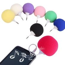 3.5mm Wired Speaker Aux Audio Plug Jack Music Sponge Ball Speaker for Mobile Phone Tablet PC