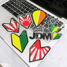 7 Styles Funny JDM Leaf Japanese Flag Warning Sticker Decals for Car Motorcycle Bike Laptop Mobile Phone