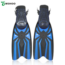 3 Sizes Lixada  Snorkeling Foot Flipper Diving Long Swimming Fins Water Sports Training Scuba Diving Fins Swim Equipment