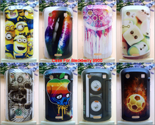 New Protective Covers For Blackberry 9900 Case Plastic Hard Back Cover Drawings Free Shipping Phone Cases