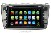 "1024*600 Quad Core 8"" Android 5.1.1 Car Autoradio Stereo Head unit DVD GPS Navigation For Mazda 6 Support original BOSE System"