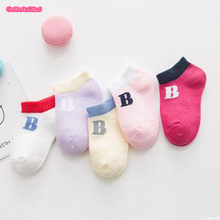 Baby Socks Lot Animals Cartoon Baby Socks Girls Boys Short Socks for Kids Cat,Strips Anti-slip NewBorn Brand 0-12Y