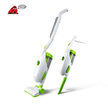 PUPPYOO Low Noise Home Rod Handheld Vacuum Cleaner Portable Dust Collector Household Aspirator White&Green Color D-520