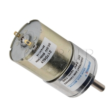 CNBTR 24V DC Gear Motor Variable 100RPM High Torque Gear Box Electric Reduction Motor