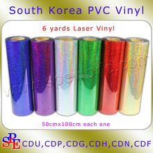 0.5MX1MX6 Colors from 22 Colors Laser Mattes Heat Transfer Film/vinyl+High Quality+Free Shipping+Wholesale Price+South Korea