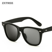 ZXTREE 2017 Classic Sunglasses Man Aviator Colored Driving HD Sun Glasses Trends Brand Designer Retro Shades Women/Men Glasses