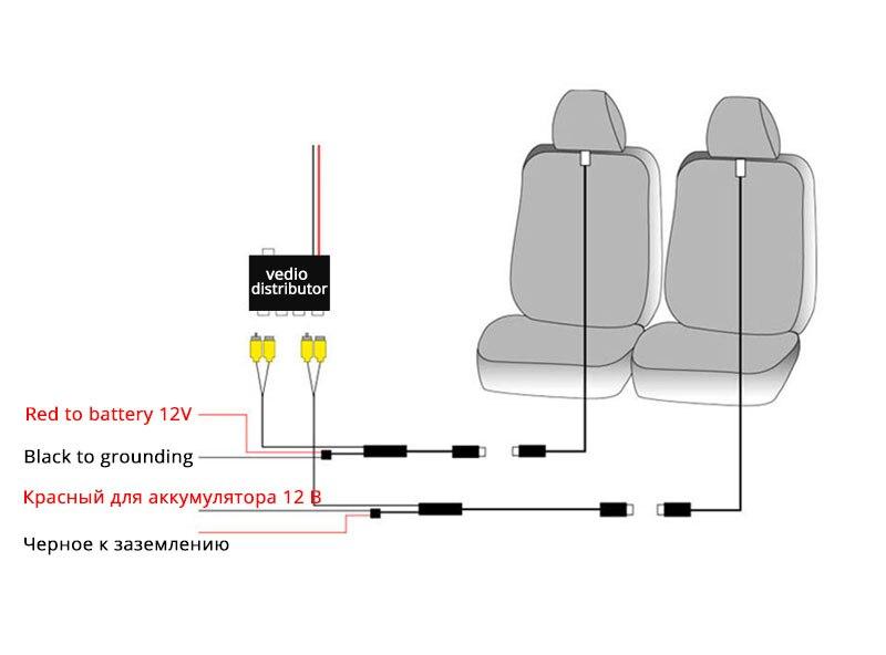 Headrest monitor 13