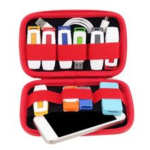 Portable Digital Products Pouch Travel Storage Bag for HDD, Phone,USB Flash Drive, Earphone, Health USB Key ,SD Card A