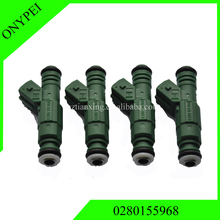 Free Shipping 4pcs 02801 55968 Fuel Injector For Audi BMW Ford Lotus Chrysler 0280155968