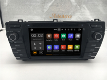 The Latest Quad core Android 5.1 6.0 7.1 Car DVD Multimedia Head unit GPS SAT NAV For Toyota Corolla 2014+ Car Radio Player