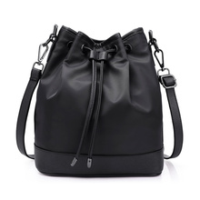 Eleindoel New Women Shoulder Bags Oxford Fashion Korean Style Bucket Bag Solid High Capacity Spring Women Shoulder Bag(China)