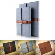 9.7 inch Luxury Western Retro Business Belt Leather Case for iPad Air Briefcase Classic Stand Smart Cover for iPad Air iPad 5(China)