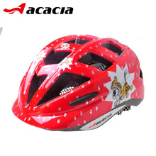 ACACIA Kids Cycling Helmet Cascos Bicicleta Vitality Safe Bike Bicycle Helmet for Boys Football Net Soccer Baseball Helmet 06500(China)