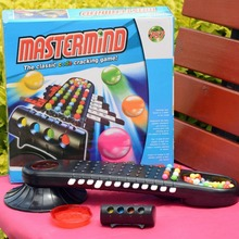 the classic code cracking game Children Educational Toys Plastic Predictable Beads Table Games Cracked Passwords Mastermind Toy