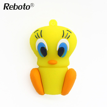 Reboto Bunny USB Flash Drive Creative Pen drive Memory Stick 4GB 8GB Animal pendrive Daffy Duck usb flash drive 16G 32GB 64GB