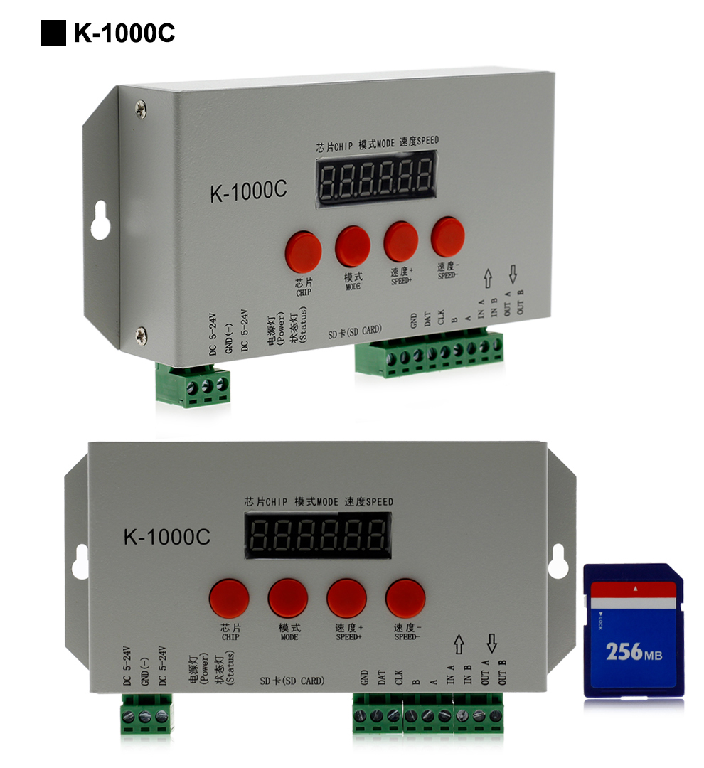 K-1000C T-1000S Full Color Controller (10)