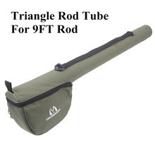 Maximumcatch Fly Fishing Rod Tube Triangle Rod Case Cordura Rod Storage(China)
