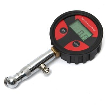 Universal 0-200PSI Metal Digital Car Tire LCD Air Pressure Gauge Tester PSI BAR KPA KGF/cm2 Second Hand Car Repair Test Tool