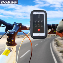 Universal bicycle phone holder waterproof motorcycle holder for smartphone iphone 5 5s 6 6s plus Galaxy Xiaomi Huawei(China)