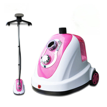 1700w power garment steamer, 1.4L water tank steam cleaner, Ironing with rod, housdhold ironer, steaming brush(China)