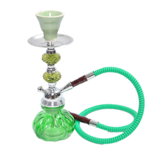 2016 Babilon Premium Arab Complete Set Small shisha hookah in glass smoking pipe Narguile bottle polarized one hose