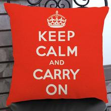 Free Shipping Custom  New English Letters Printed Short Soft Plush Decorative Throw Pillow Office Chair Back Cushion