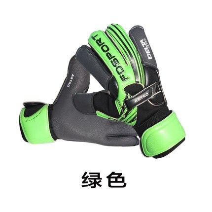 Korean fashion goalkeeper gloves football gloves thickening wear latex professional full latex gantry gantry gloves<br>