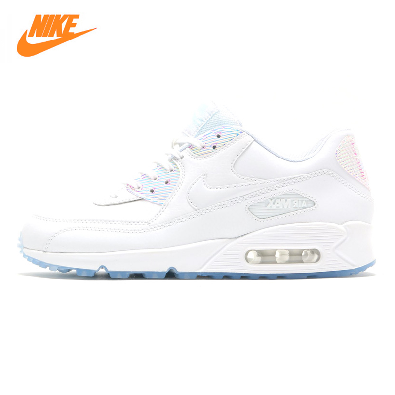 High Quality Super High Quality Nike AIR MAX 90 Leather Breathable 443817104 Women Shoes And Men Shoes New Release