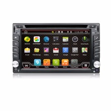 4.4 Android Car DVD Stereo camera 1GHZ Quad-Core Capacitive Double 2 Din Car PC CD GPS BT WiFi 3G CAMERA