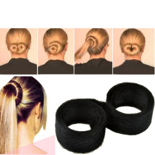 T037 Wholesele New Sponge Hair Band Bun Clip Maker Former Foam Twist Hair Salon Tool Head Jewelry Hair DIY For women(China)