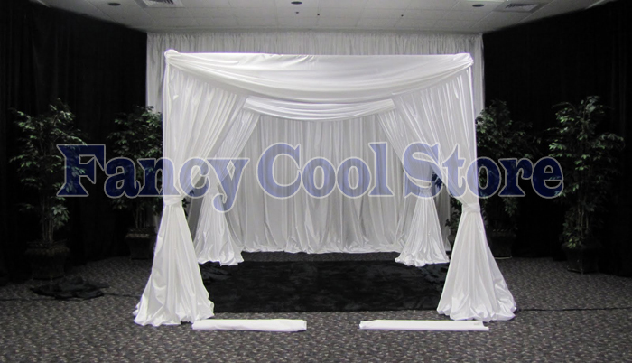 Canopy Curtain stand curtain promotion-shop for promotional stand curtain on