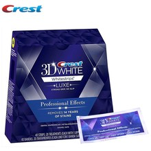 20 Pouch/Box Crest 3D Whitestrips Professional Effects Teeth Bleaching Gel Oral Hygiene Teeth Whitening Strips