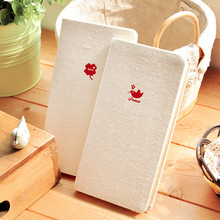 Creative stationery wholesale pure linen imprinted surface notepad notebook diary book H5 free shipping 1462(China)