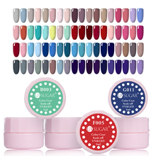 UR SUGAR 110 Solid Colors 5ml Soak Off UV Gel Paint Polish Nude Series Coat Lacquer UV LED Nail Art Natural Gel Polish(China)