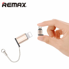 REMAX Convert Micro USB Plug USB Adapter For iPhone 5 5S 6 6S 6 plus 6s Plus 7 7 Plus Support Charging Data Transmission