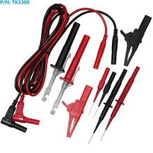 TK3300 non-destructive testing and repairing car circuit barbed wire multimeter needles Set DMM Probe Kit(China)