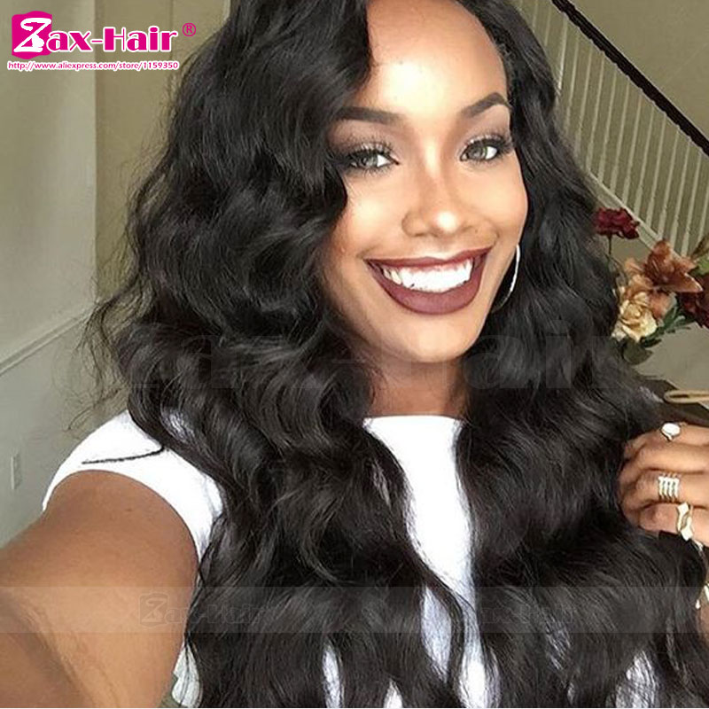 In Stock Full Lace Wigs For Black Women Human Hair 7A Lace Front Wigs Glueless Wavy Unprocess Virgin Human Hair Lace Front Wigs<br><br>Aliexpress