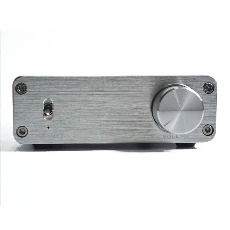 Feixiang FX-Audio FX1002A 160W*2 TDA7498E Hifi 2.0 Pure Digital Audio Power Amplifier Mini Home Amplifier Aluminum Enclosure <br><br>Aliexpress