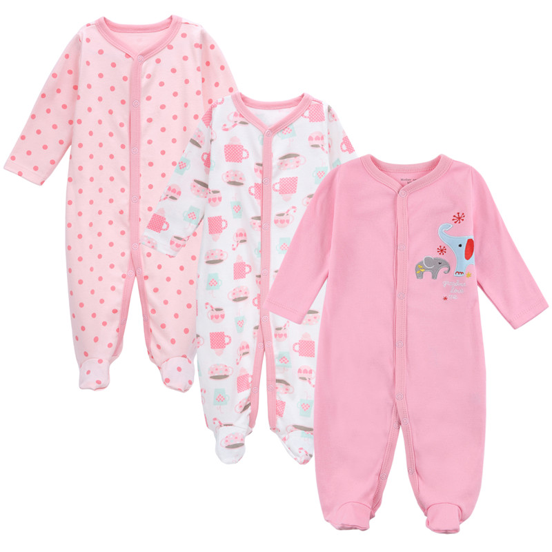 Mother Nest Brand New Baby infant Rompers spring autumn Newborn girl Clothing Fashion pink style toddler Pajamas costume Clothes<br><br>Aliexpress