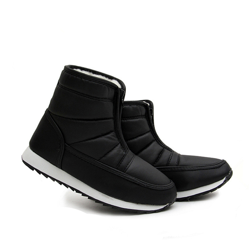 2016 autumn winter casual snow boots waterproof women ankle boots thermal flat slip-resistant fashion winter shoes woman<br><br>Aliexpress