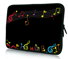 "Music Note Soft Netbook Laptop Sleeve Case Bag Pouch For 13"" inch 13.3"" Macbook Pro / Air 13.3"" Apple Macbook Pro Retina"